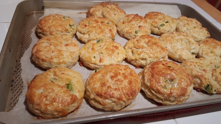 Jalapeno Cheddat Biscuits