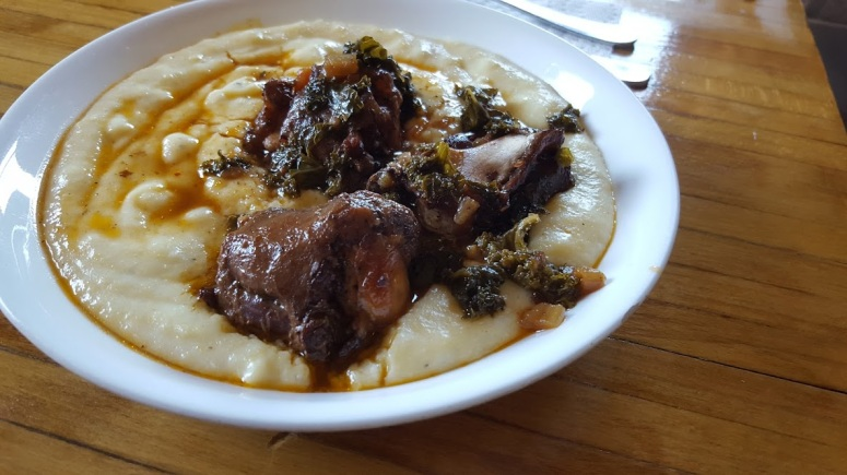 Oxtails and polenta