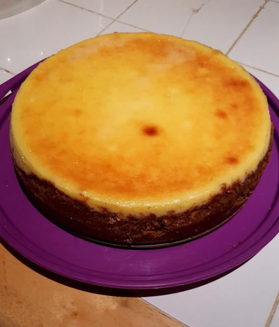 Creamy NY cheesecake