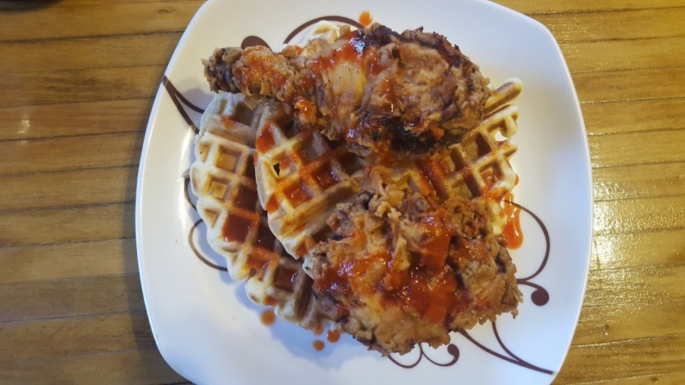 Chicken and Waffles3