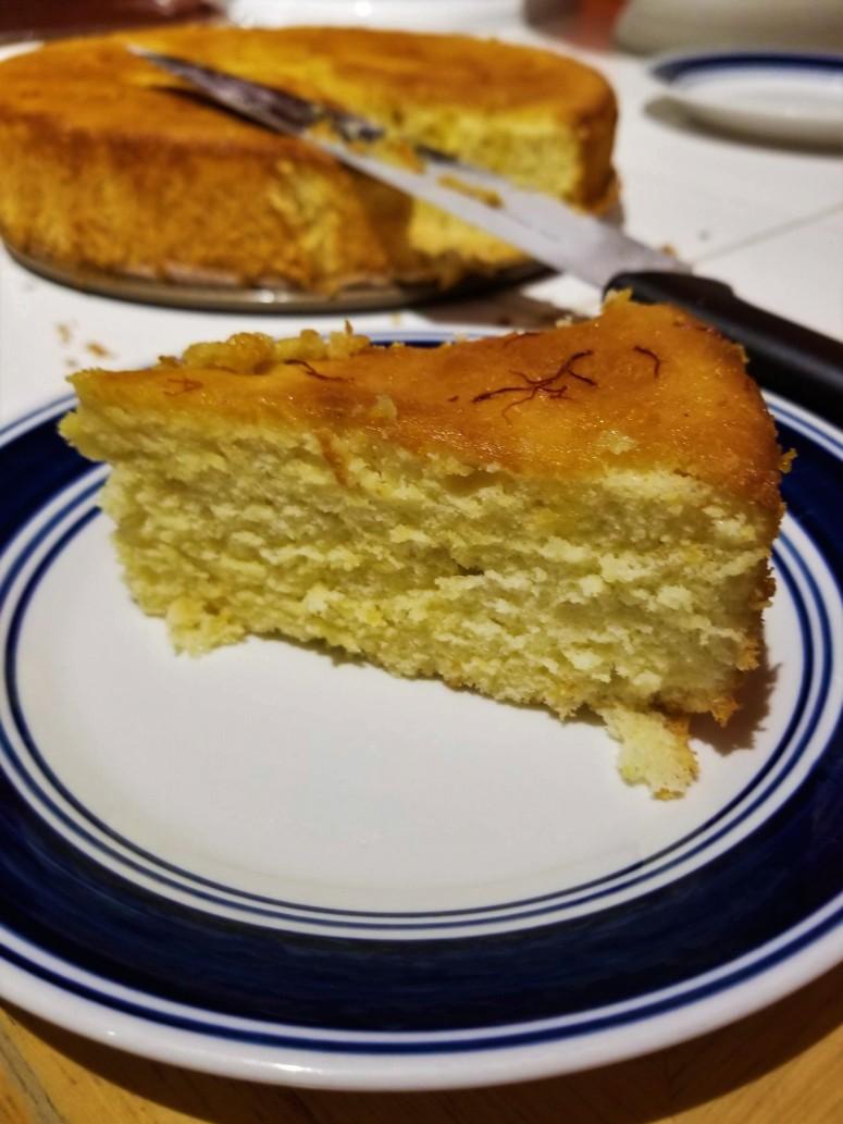 Olive oil cake7