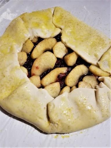 apple cranberry galette6