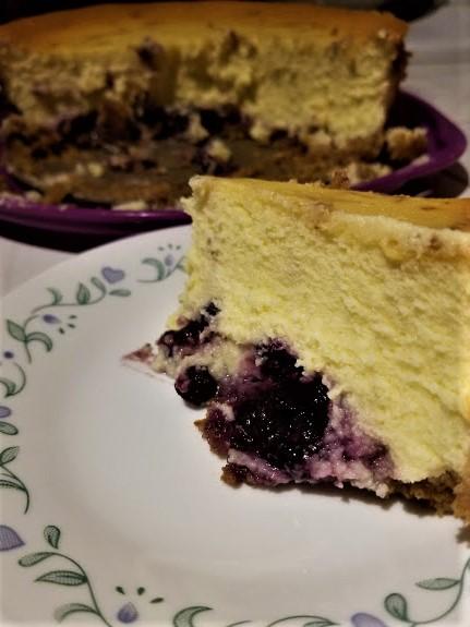 Blueberry cheesecake7